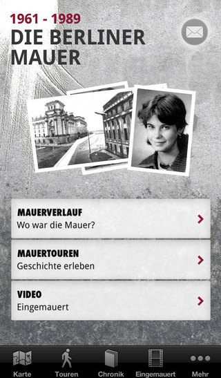 Die Berliner Mauer App