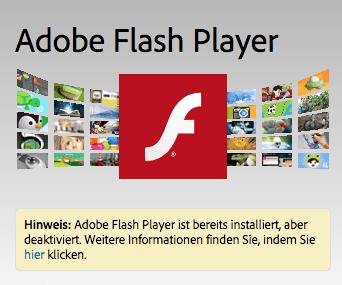 Adobe liefert Flash Player Update