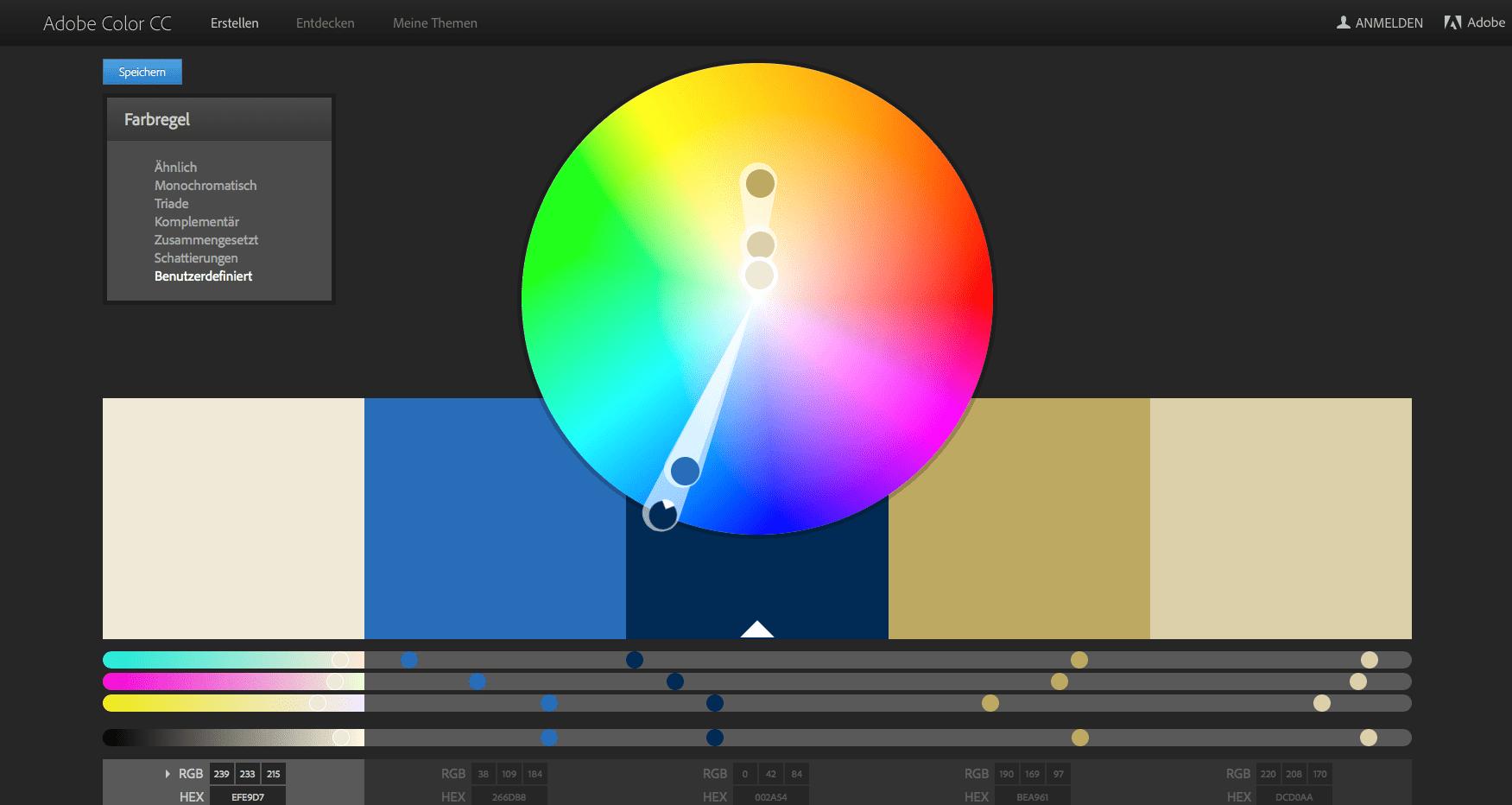 Kennt ihr eigentlich Adobe Color CC?