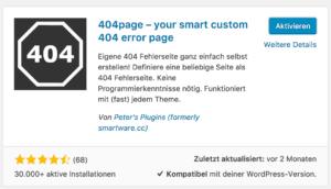 Plugin 404-Seite