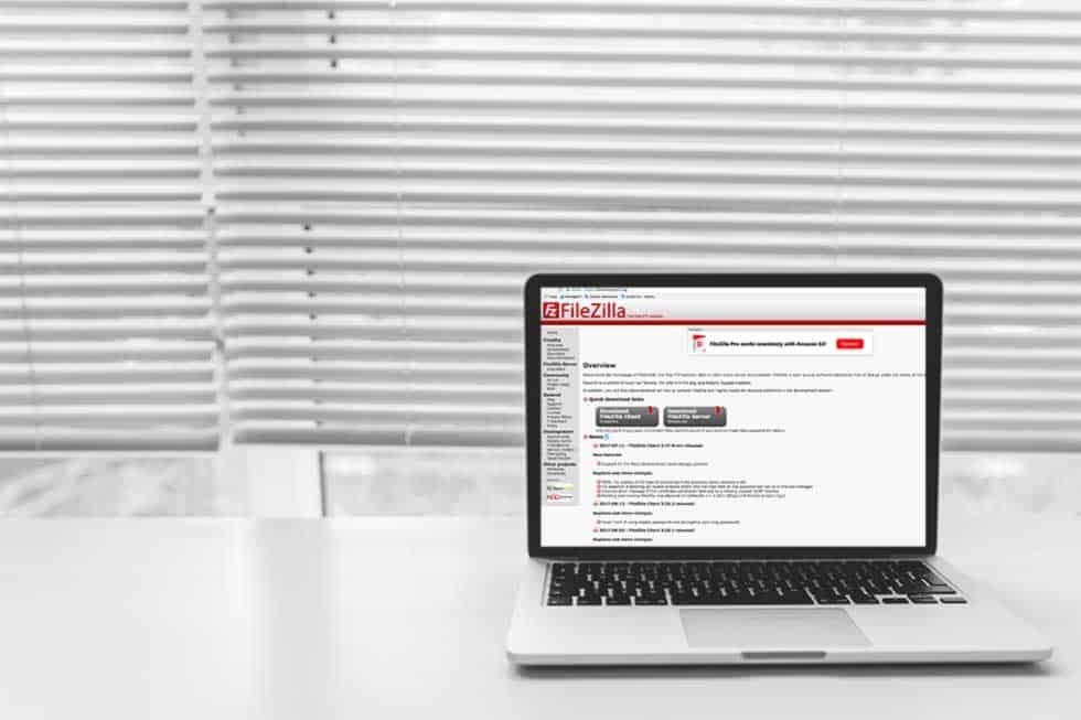 Mit FileZilla einen FTP-Zugang zu deiner Website herstellen