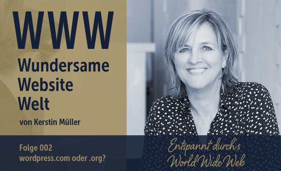 wordpress.com vs. wordpress.org: Die Unterschiede und meine Empfehlung für dich