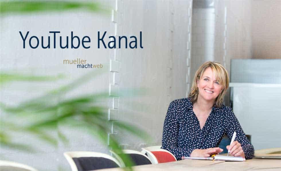 YouTube Kanal Kerstin Müller - mueller macht web
