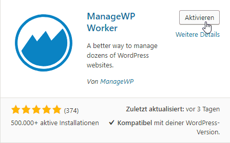 ManageWP Worker Plugin