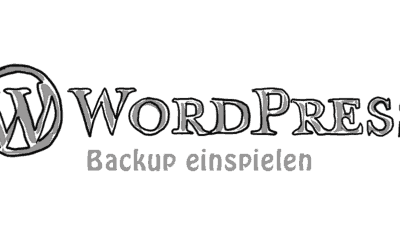 BackupWordPress Teil 2 – Wie du dein Backup einliest