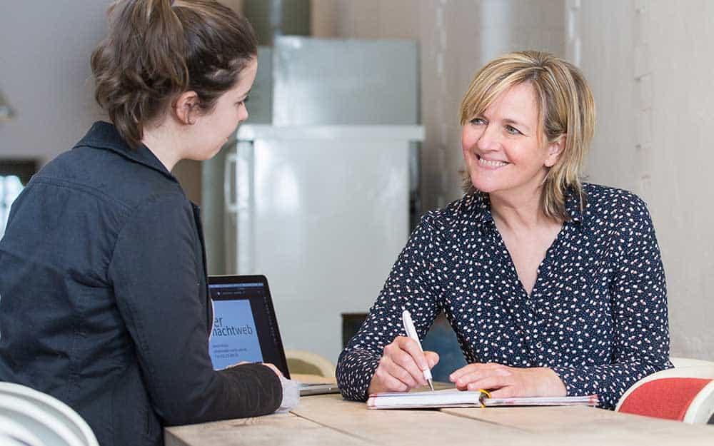 Strategiegespräch Webseite mit Kerstin Müller