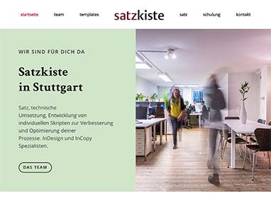 satzkiste in Stuttgart