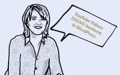 YouTube Videos DSGVO konform in WordPress einbinden auch mit DIVI