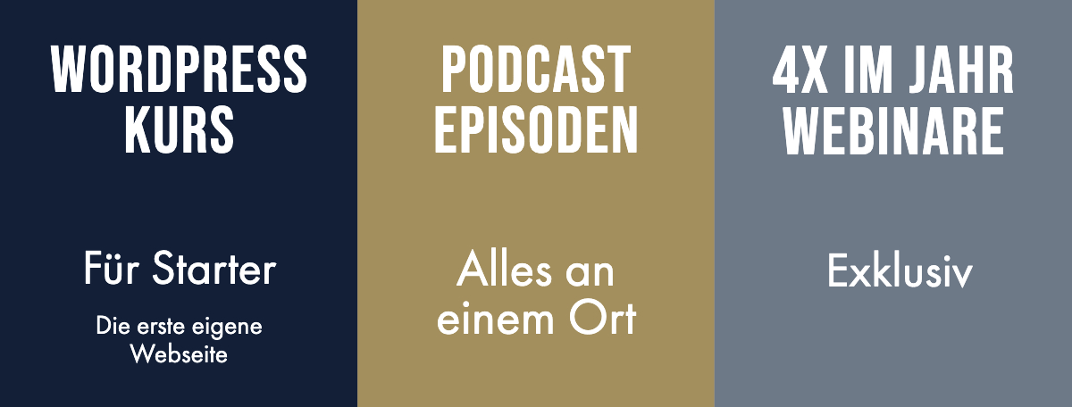 Gratis Memberbereich Podcast