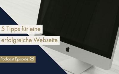 5 Tipps wie du mit deiner Webseite (noch) erfolgreicher sein kannst