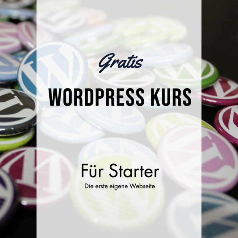 WordPress Gutenberg Onlinekurs