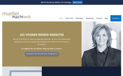 Erstelle einen Button in deinem WordPress Menü