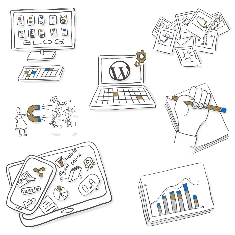 Online Kurs Webseite WordPress