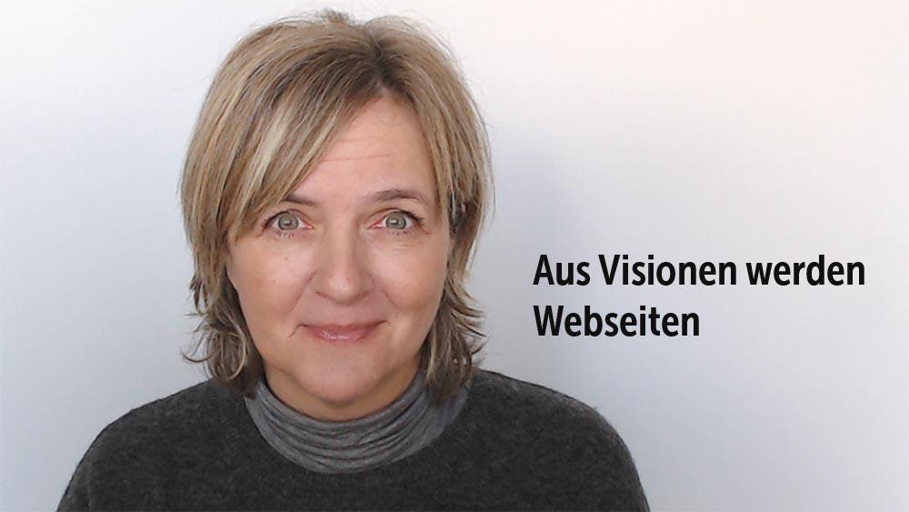 Webdesign Symmetrie - Wie man Text auf einem Bild platziert