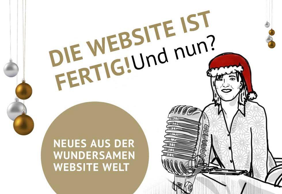 Die Website ist fertig! Und was nun? – Ein Interview mit Susanne Jestel